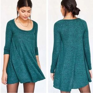Urban Outfitters BDG Cozy Sweater Swing Dress EUC